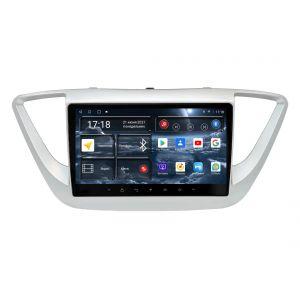 Автомагнитола Hyundai Solaris 2-поколение HCR (02.2017 - 08.2020) УК XX167 9 дюймов