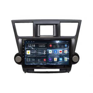 Автомагнитола Toyota Highlander 2-поколение XU40 (08.2010-12.2013) УК XX035 10 дюймов