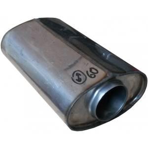 Пламегаситель Овальный 160х80х210мм внутр.D=50мм с диффузором